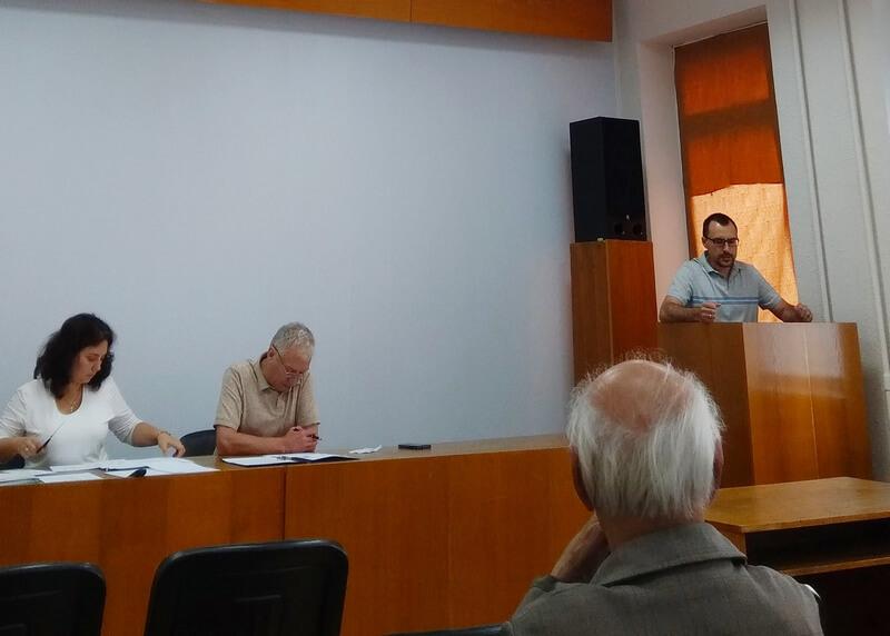 Засідання Вченої ради ДУ «Інститут геохімії навколишнього середовища НАН України».