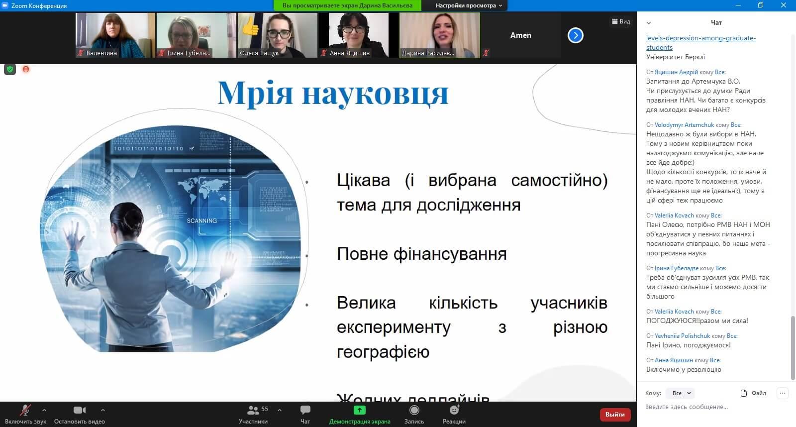 Проведено VІІІ Всеукраїнську науково-практичну конференцію молодих учених «Наукова молодь-2020»