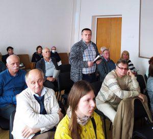 Зустріч з кандидатом у президенти НАН України