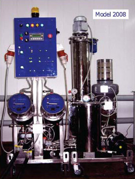 Industrial oil purification system «FOJ»