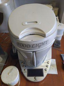 Портативна робоча станція для комплексного рідіаційного моніторингу об'єктів навколишнього середовища «FOOD LIGHT»