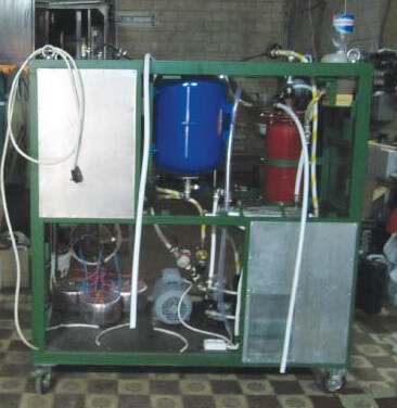 Technological system of biodiesel production «INERTON»