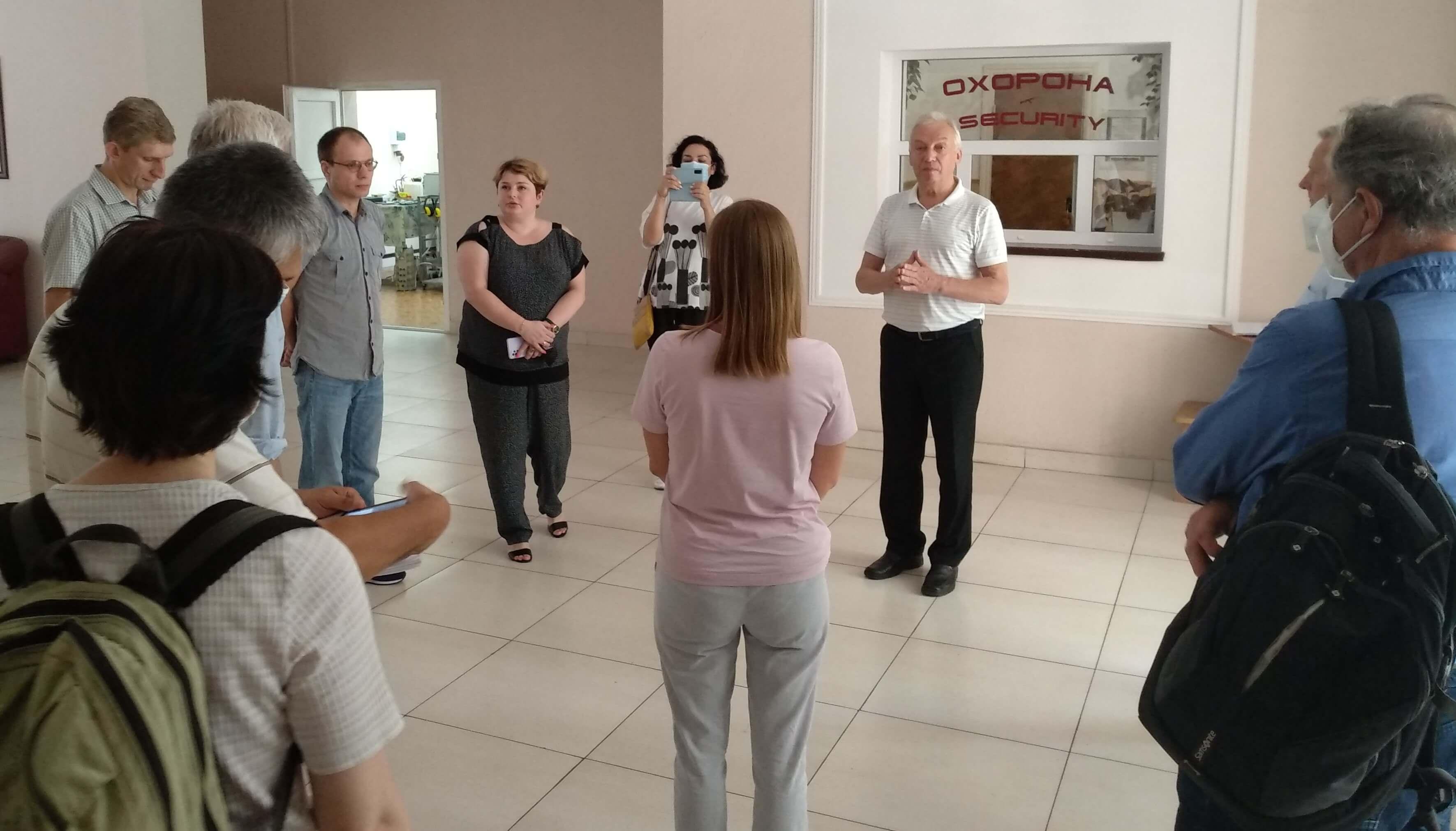 Делегація від Асоціації академічного співробітництва «Академ.Сіті» відвідала ДУ «ІГНС НАН України»